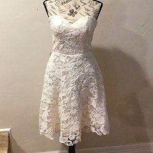 Grace Karen strapless Lace Dress